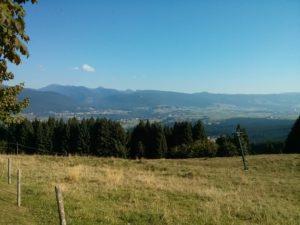 Vista da rifugio Kubelek